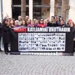 Maraş Katliamı'nda yaşamını yitirenler İzmir'de anıldı
